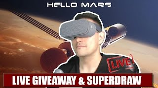 HELLO MARS PRESENTS: LIVE GIVEAWAY & PATRON SUPERDRAW: BOBO VR Z4, DAYDREAM DISTRICT VR T-SHIRT