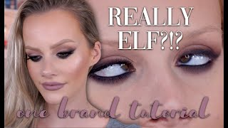 E.L.F. ONE BRAND TUTORIAL | Is it all PERFECT?!?