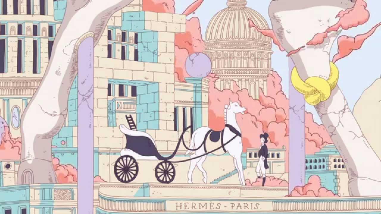 La Maison des Carrés Hermès  Hippopolis - YouTube 64b7e20dda2