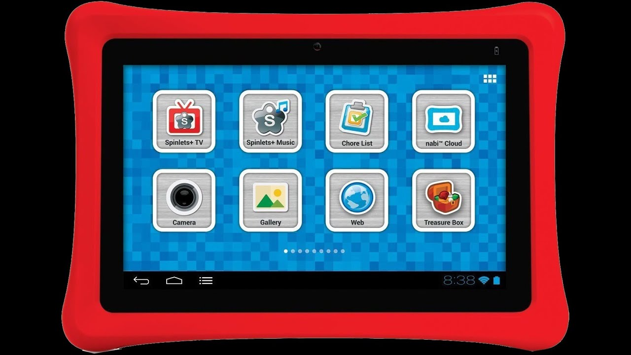 Nabi 2 Kids Tablet Unboxing And Review 2014 Youtube