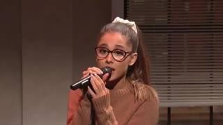 Ариана Гранде имитирует голоса знаменитых певиц