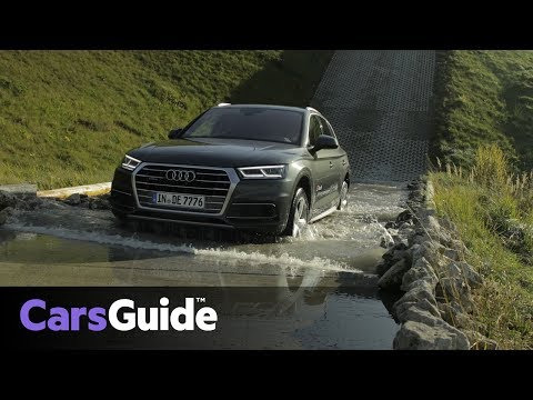Audi Q5 2018: Tackling the Audi Driving Experience in Germany