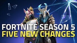 Fortnite Season 5 | Five Big Changes to Look Out For thumbnail