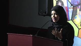 HOPE Qatar: Felicitations by Ms  MUNA FADAL AL SULAITI Qatar Red Crescent