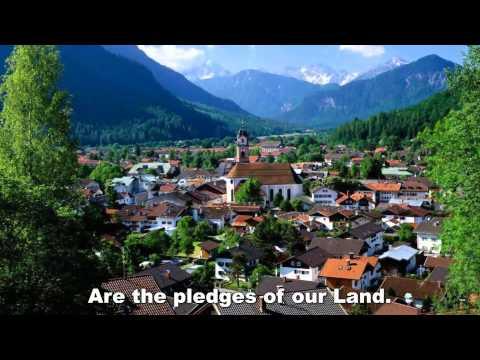 German National Anthem - English Version, sung by Nicolle Zambrano
