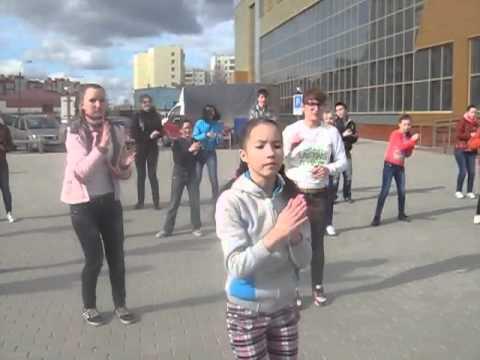 В Тобольске прошел танцевальный флэш-моб