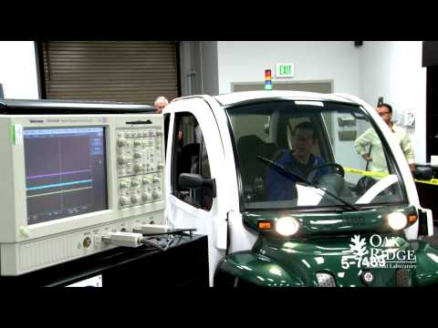 ORNL In-Motion (Dynamic) Wireless Charging of Electric Vehicles