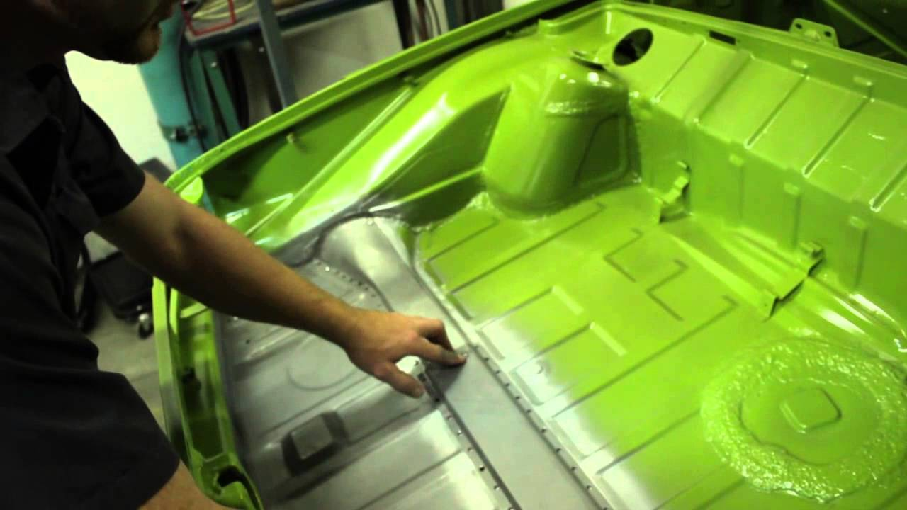 roller diagram for wiring how to 914 rear trunk floor pan install youtube  how to 914 rear trunk floor pan install youtube