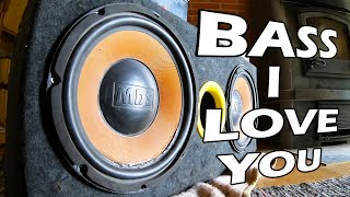 Bass I Love You Subwoofer Excursion #mds #audiophile #subwoofer #excursion