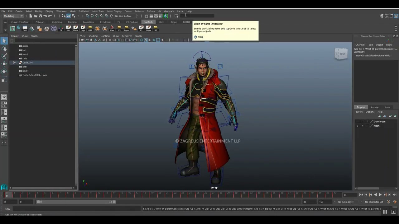 3D Fantasy Character Import Process - Maya to Unity 3D with Animation