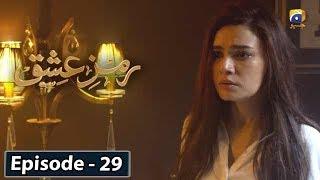 Ramz-e-Ishq - EP 29     English Subtitles    20th Jan 2020 - HAR PAL GEO
