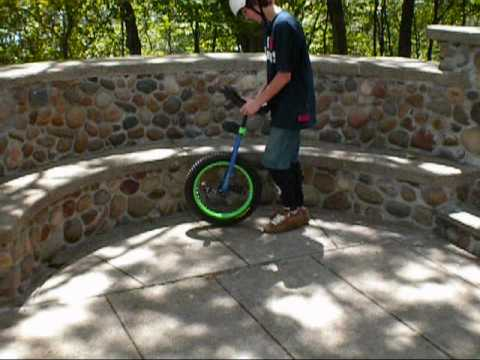 UNICYCLE AND PARKOUR (Garrett Sherry)