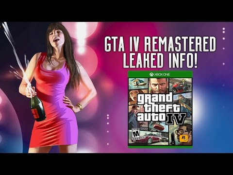 GTA IV REMASTERED LEAKED? Rockstar Games Secret Project For Xbox One, PS4 & PC? Coming After RDR2?!