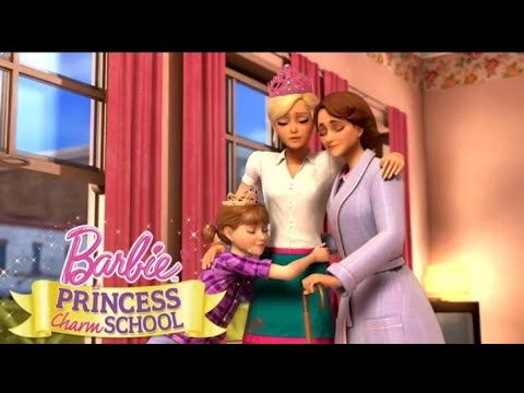 Download Barbie™ Princess Charm School (2011) Full Movie Part 2 | Barbie Official Movies