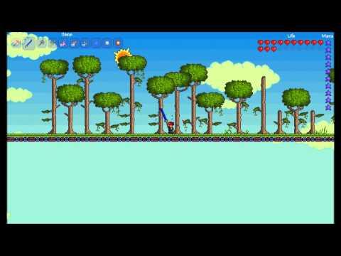Terraria Tutorial - 9 - Selfgrowing tree farm