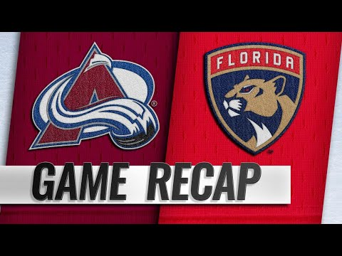 Soderberg, Landeskog lead Avs past Panthers, 5-2