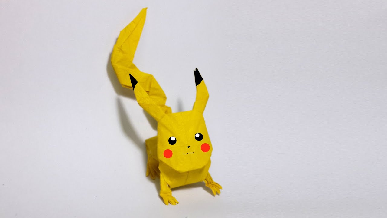 Origami Pokemon Diagram Paxton Door Access Wiring Faltanleitung My Blog