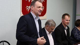 Wiceprezydent Grzegorz Płocha na podsumowanie OKLA