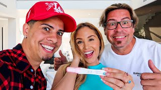 TELLING MY DAD I'M PREGNANT WITH BABY #4!!!