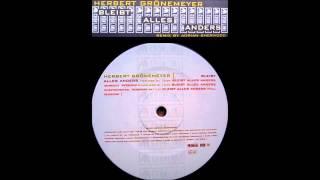 "Herbert Grönemeyer - Bleibt Alles Anders 12"" Full Maxi Version"