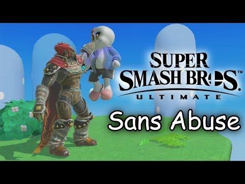 Super Smash Bros. Ultimate - Sans Abuse