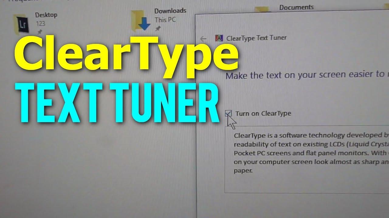 Better ClearType Tuner 1.3 [suavizar las fuentes en Windows] [Ingles] [UL.IO] Maxresdefault