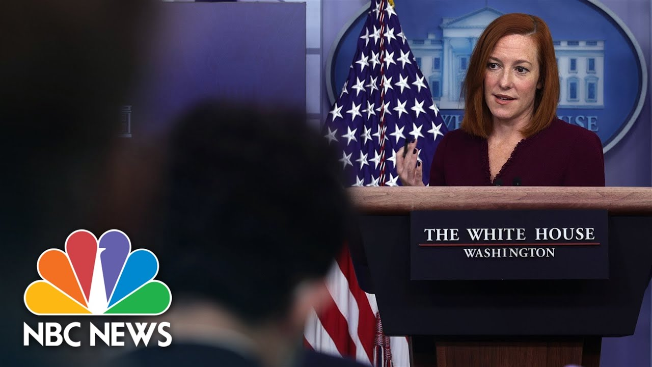 White House Holds Press Briefing: October 8 | NBC News