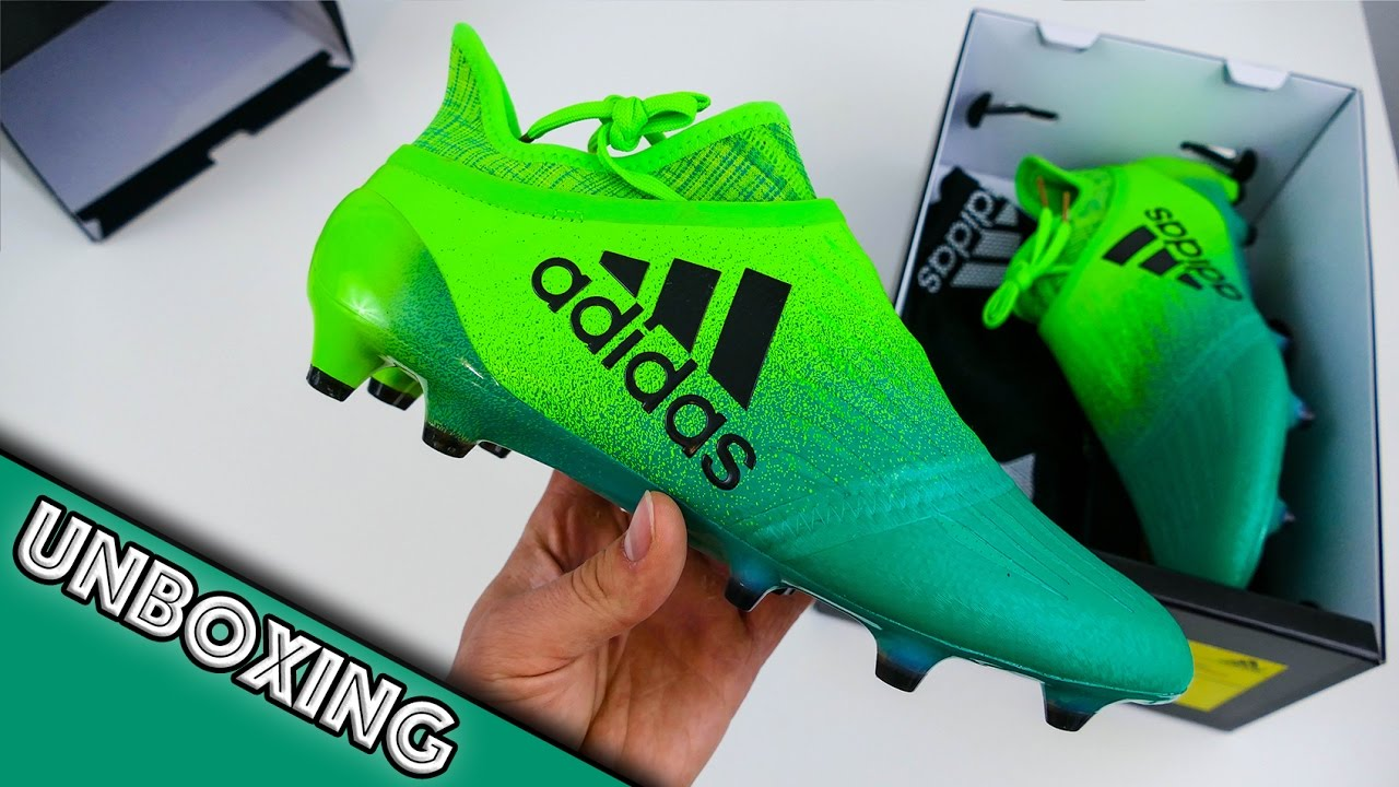 half price the cheapest buy best UNBOXING: adidas X16+ PureChaos Turbo Charge - YouTube