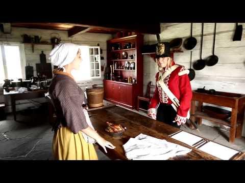 War of 1812 Reenactment at Fort George | Reconstitution de la guerre de 1812 au fort George