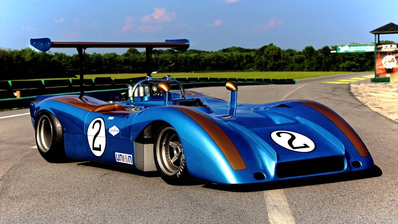 1969 Alan Mann Holman Moody Ford Can Am Car - YouTube