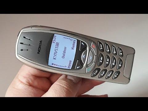 Nokia 6310i. Крутая капсула времени с голубой подсветкой 2003 года из Германии из Mercedes E-class