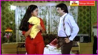 Samsaram Oka Chadarangam Movie Scenes | Rajendra Prasad | Aruna
