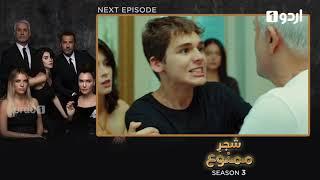 Shajar-e-Mamnu   Episode 169 Teaser   Turkish Drama   Forbidden Fruit   Urdu Dubbing  02 August 2021