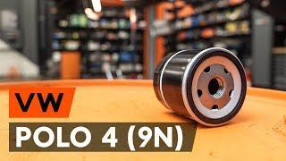 Wie VW POLO (9N_) Spurlenker austauschen - Video-Tutorial