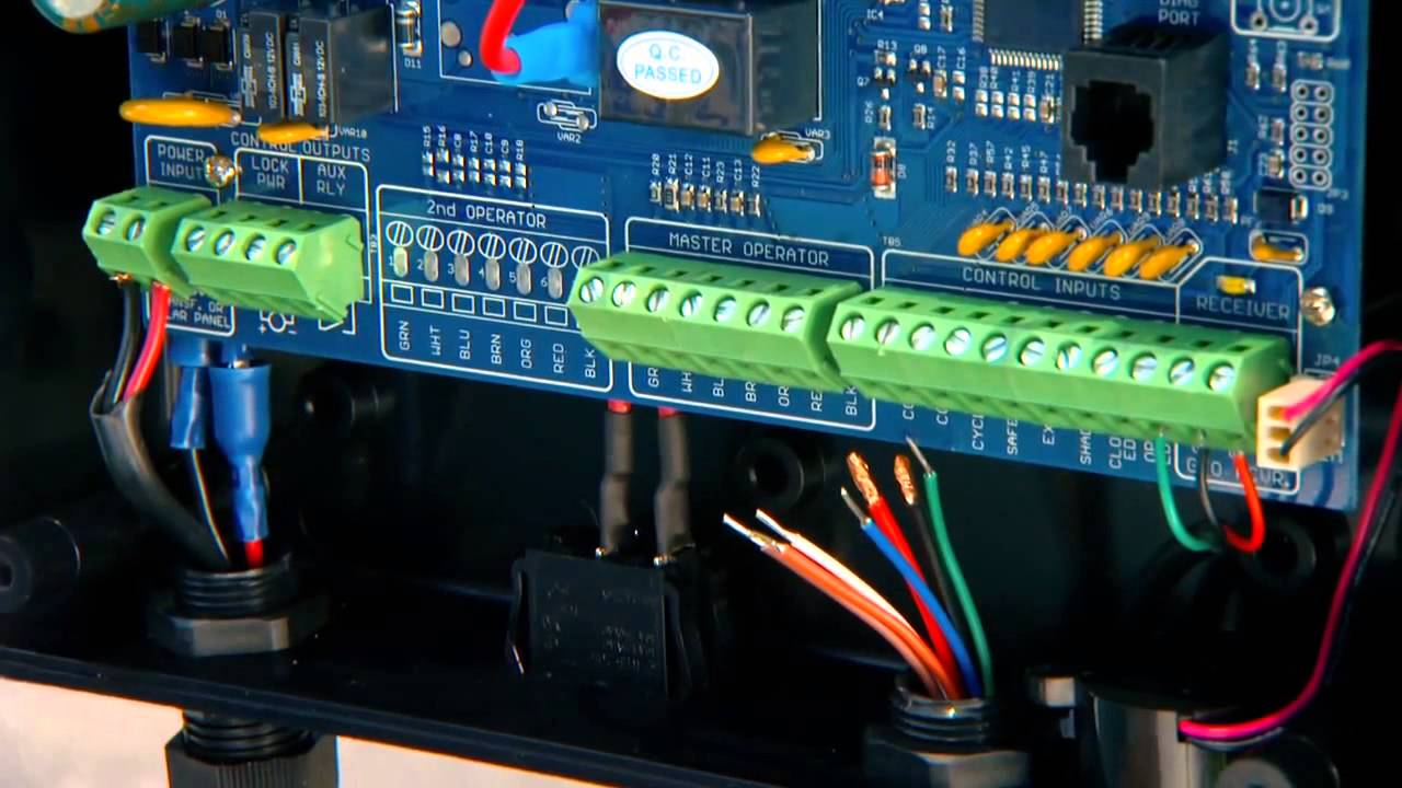 Section 10 Connecting The Opener Arm To The Control Board