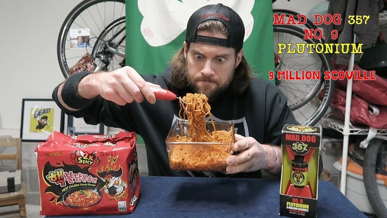 Download 9 Million Scoville Spicy Ramen Noodle Challenge | L.A. BEAST