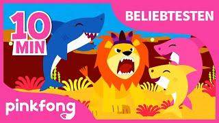 Baby Hai und Beliebtesten Lieder | Auto | Tier | Dinosaurier | Baby Shark Deutsch | Pinkfong