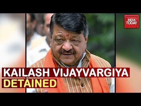 BJP Leader Kailash Vijayvargiya Detained During Pro-CAA Rally In Kolkata