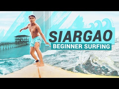 CLOUD 9 SIARGAO SURFING 🏄 Siargao Island (Surfing Capital of