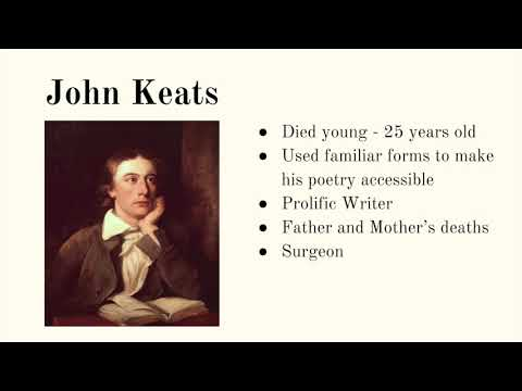 An Introduction to John Keats
