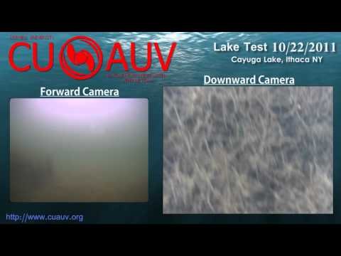 CUAUV Drekar Lake Test  -  October 2011