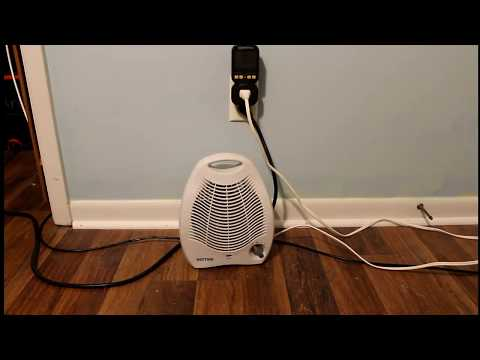 Space Heater Cost Vs  Central Heating HVAC + Math!