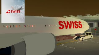 SWISS INT'L AIR LINES | Cabin Crew | Boeing 777 | ROBLOX