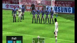 Pes 2012-Gameplay Santos Emelec 1/2 PSP