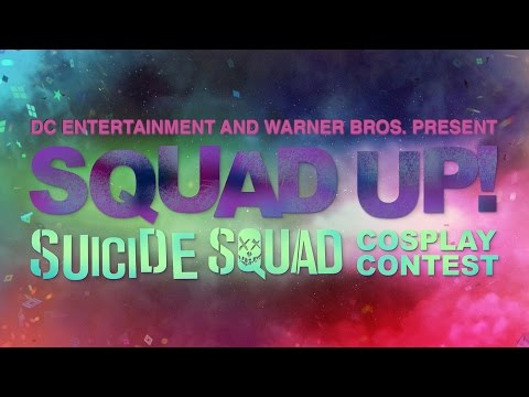 Win a Trip to SDCC - DC and Warner Bros. Present Squad Up! Cosplay Contest