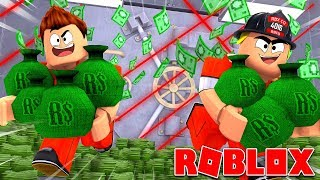 BREAKOUT FROM PRISON AND BANK OUTOF! - Roblox Prison Break [English/HD]