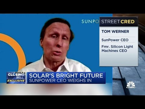 Future for renewable energy is bright during Joe Biden's administration: SunPower CEO