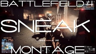 【BF4】SNEAK-Montage【Sniper,Shotgun,C4,Kn…