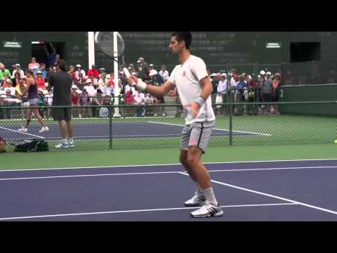 Novak Djokovic Ultimate Compilation - Forehand - Backhand - Serve - Volley - 2013 Indian Wells