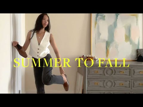 Summer to Fall Transitional Outfits (lookbook)